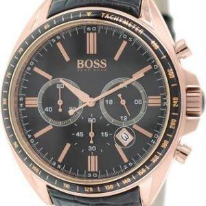 Hugo Boss Chronograph 1513092 Kello Musta / Nahka