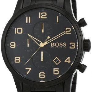 Hugo Boss Chronograph 1513275 Kello Musta / Teräs
