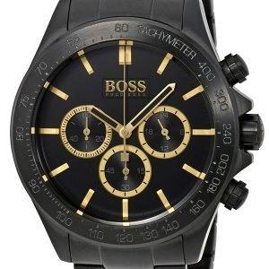 Hugo Boss Chronograph 1513278 Kello Musta / Teräs