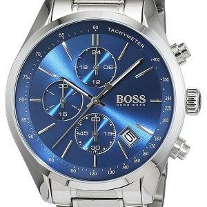 Hugo Boss Chronograph 1513478 Kello Sininen / Teräs