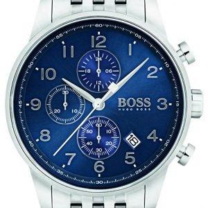 Hugo Boss Chronograph 1513498 Kello Sininen / Teräs