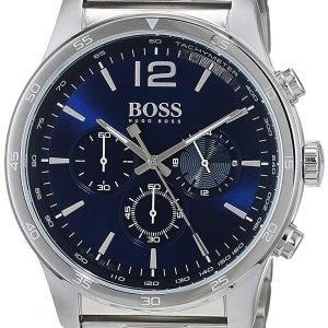 Hugo Boss Chronograph 1513527 Kello Sininen / Teräs