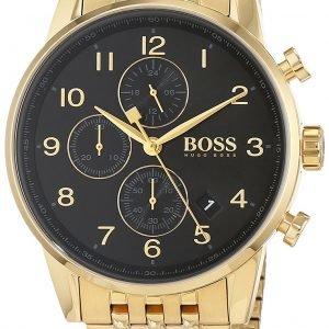 Hugo Boss Chronograph 1513531 Kello Musta / Kullansävytetty