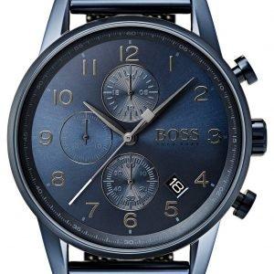 Hugo Boss Chronograph 1513538 Kello Sininen / Teräs