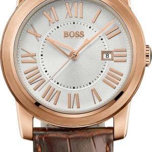 Hugo Boss Classic 1512716 Kello Hopea / Nahka