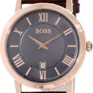 Hugo Boss Classic 1513138 Kello Harmaa / Nahka