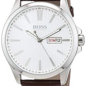 Hugo Boss Classic 1513532 Kello Hopea / Nahka