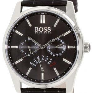 Hugo Boss Heritage 1513124 Kello Musta / Nahka