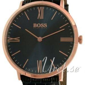 Hugo Boss Jackson 1513371 Kello Sininen / Nahka