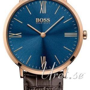 Hugo Boss Jackson 1513458 Kello Sininen / Nahka