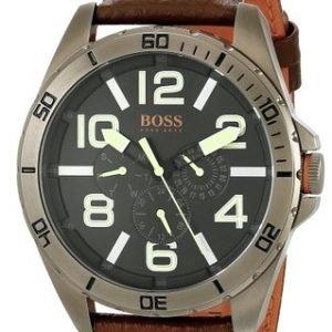 Hugo Boss New York 1513166 Kello Musta / Nahka