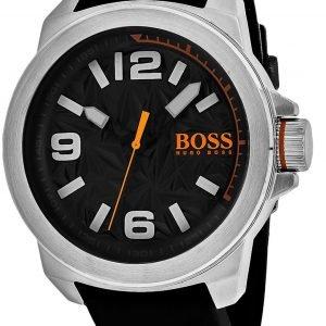 Hugo Boss New York 1513345 Kello Harmaa / Kumi