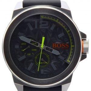 Hugo Boss New York 1513347 Kello Harmaa / Kumi