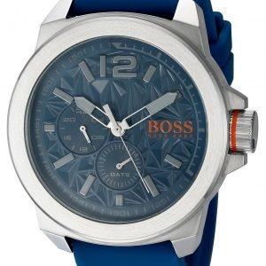 Hugo Boss New York 1513348 Kello Sininen / Kumi