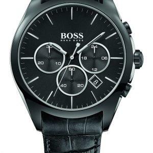 Hugo Boss Onyx 1513367 Kello Musta / Nahka