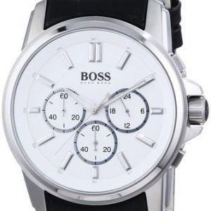 Hugo Boss Origin 1513033 Kello Valkoinen / Nahka