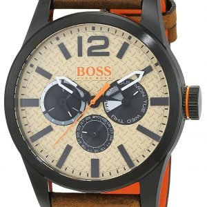 Hugo Boss Paris 1513237 Kello Beige / Nahka