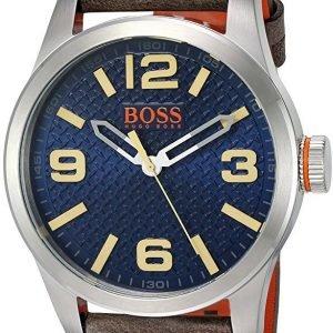 Hugo Boss Paris 1513352 Kello Sininen / Nahka