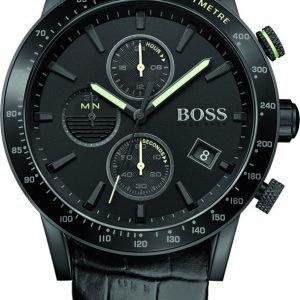 Hugo Boss Rafale 1513389 Kello Musta / Nahka