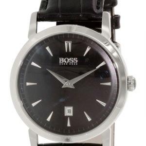 Hugo Boss Slim 1512637 Kello Musta / Nahka