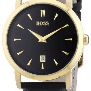 Hugo Boss Slim 1512909 Kello Musta / Nahka