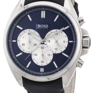 Hugo Boss Sport 1512882 Kello Sininen / Nahka
