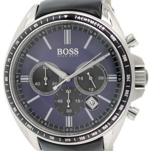 Hugo Boss Sport 1513077 Kello Sininen / Nahka
