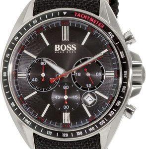 Hugo Boss Sport 1513087 Kello Musta / Nahka