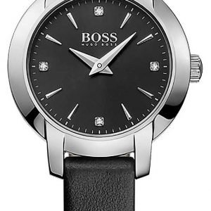 Hugo Boss Success 1502382 Kello Musta / Nahka
