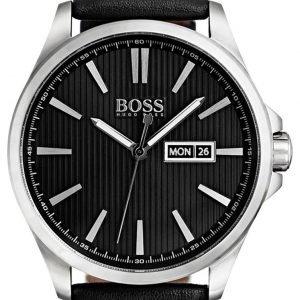 Hugo Boss The James 1513464 Kello Musta / Nahka
