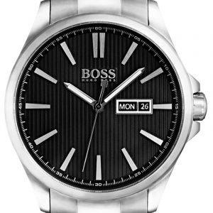 Hugo Boss The James 1513466 Kello Musta / Teräs