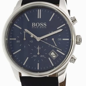 Hugo Boss Time One 1513431 Kello Sininen / Nahka