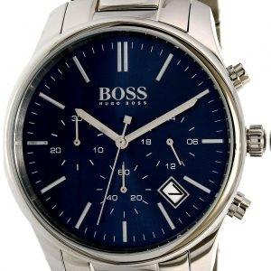 Hugo Boss Time One 1513434 Kello Sininen / Teräs