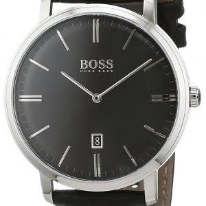 Hugo Boss Tradition 1513460 Kello Musta / Nahka