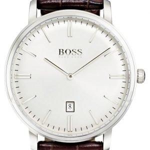 Hugo Boss Tradition 1513462 Kello Valkoinen / Nahka