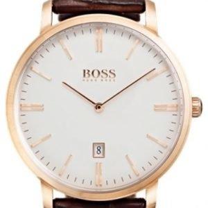 Hugo Boss Tradition 1513463 Kello Valkoinen / Nahka