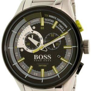 Hugo Boss Yachting Timer Ii 1513336 Kello Musta / Teräs