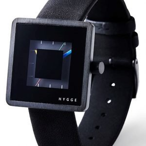 Hygge 2089 All Black Hge020081 Kello Musta / Nahka