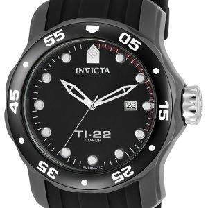 Invicta 23557 Kello Musta / Titaani