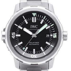 Iwc Aquatimer Automatic Iw329002 Kello Musta / Teräs
