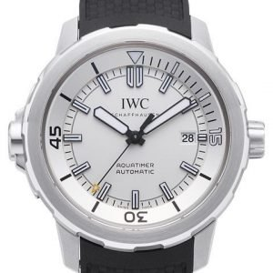 Iwc Aquatimer Automatic Iw329003 Kello Valkoinen / Kumi