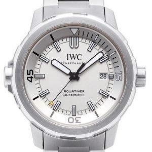 Iwc Aquatimer Automatic Iw329004 Kello Valkoinen / Teräs