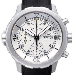 Iwc Aquatimer Chronograph Iw376801 Kello Valkoinen / Kumi