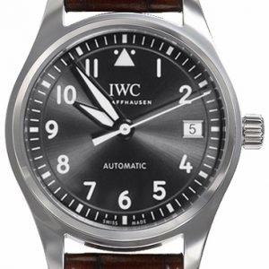 Iwc Pilots Classic Iw324001 Kello Harmaa / Nahka