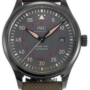 Iwc Pilots Classic Iw324702 Kello Harmaa / Tekstiili
