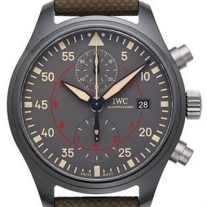 Iwc Pilots Classic Iw389002 Kello Harmaa / Nahka