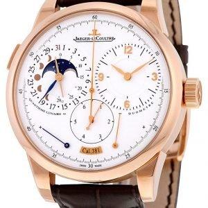 Jaeger Lecoultre Duomètre Quantième Lunaire Pink Gold 6042521 Kello
