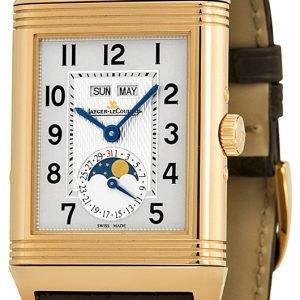 Jaeger Lecoultre Grande Reverso Calendar Pink Gold 3752520 Kello
