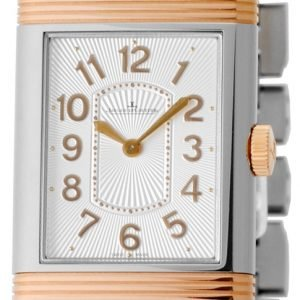 Jaeger Lecoultre Grande Reverso Lady Ultra Thin 18-Carat Pink Gold/Stainless Steel 3204120 Kello