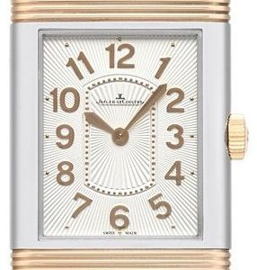 Jaeger Lecoultre Grande Reverso Lady Ultra Thin 18-Carat Pink Gold/Stainless Steel 3204422 Kello